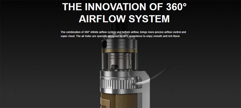 VOOPOO Drag X Pro Kit airflow