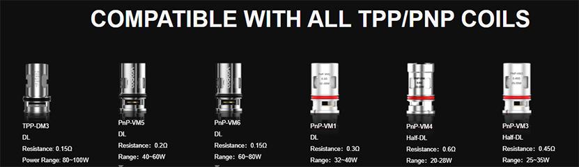 VOOPOO Drag X Pro Kit coil2