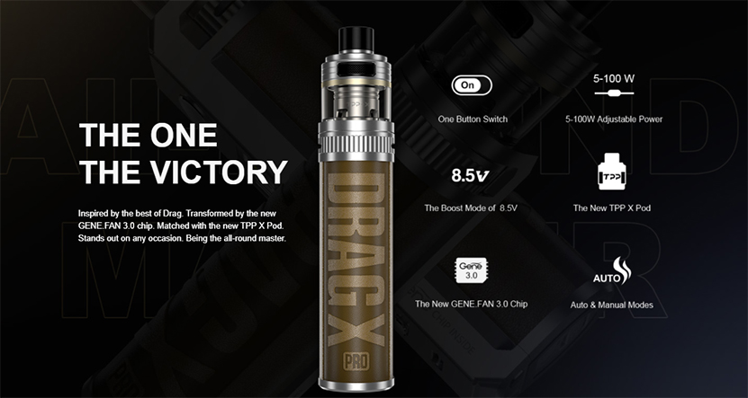 VOOPOO Drag X Pro Kit feature2