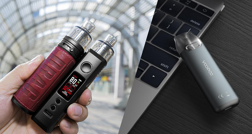 VOOPOO Drag X & Vmate Pod Gift Set Feature 10