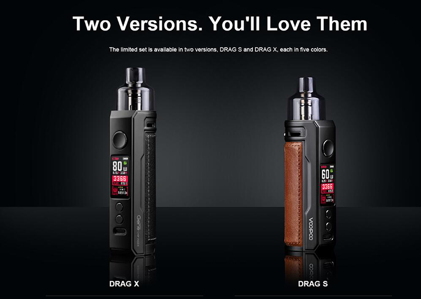 VOOPOO Drag X & Vmate Pod Gift Set Feature 4