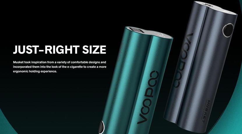 VOOPOO Musket Kit Comfortable designs