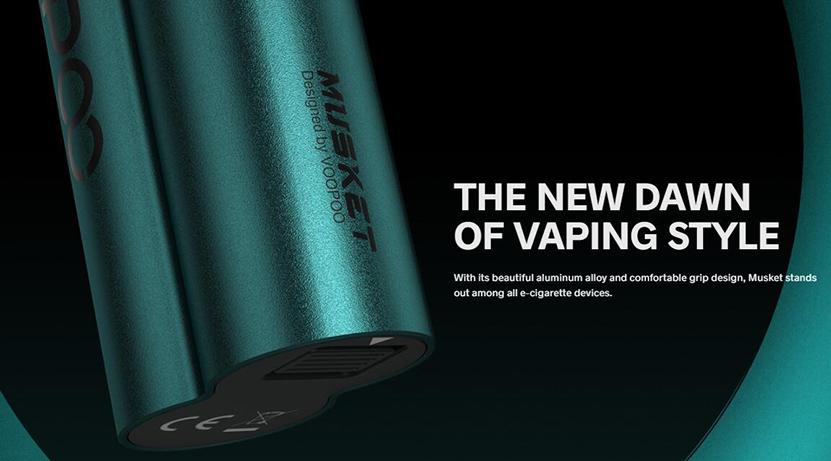VOOPOO Musket Vape Kit New Vaping Styls