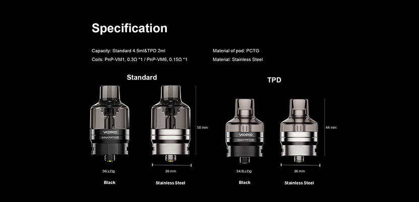 VOOPOO PnP Pod Tank Feature 7