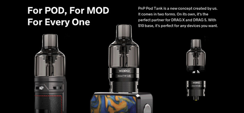 VOOPOO PnP Pod Tank Feature 2