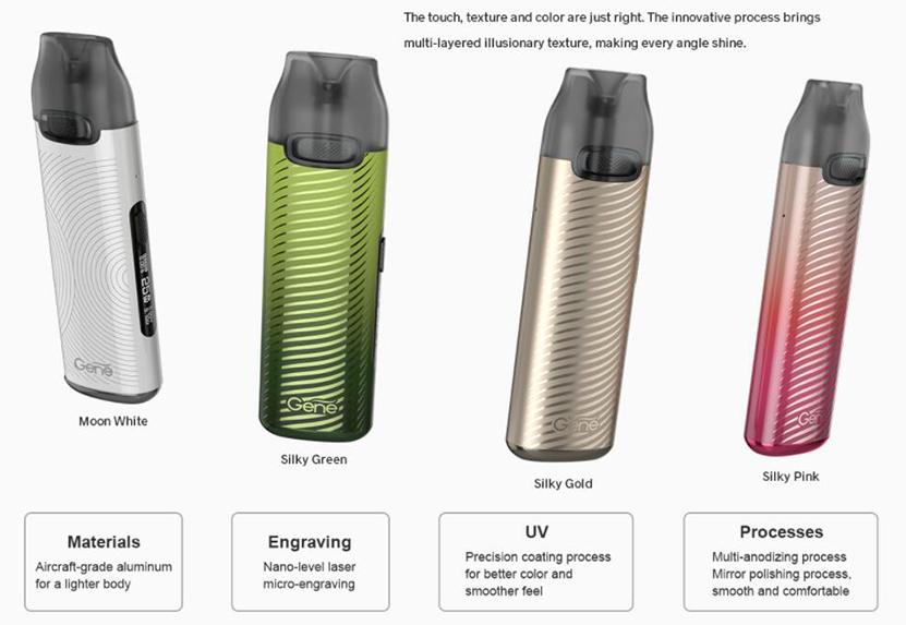 VOOPOO V.THRU Pro Kit New Colors