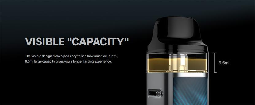 VOOPOO VINCI 2 Kit capacity