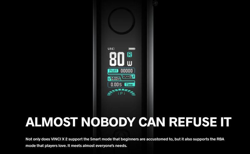 VOOPOO VINCI X 2 Kit Feature 14