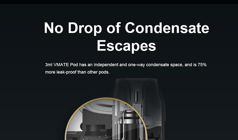 VOOPOO Vmate Pod Kit Feature 5