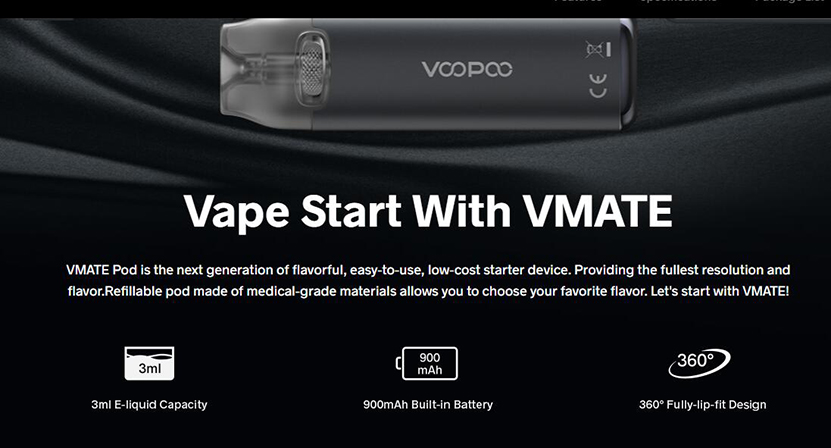 VOOPOO Vmate Pod Kit Feature 10