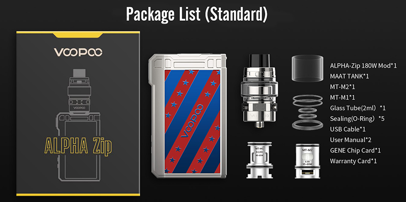 VOOPOOO ALPHA Zip Vape Kit Features 10