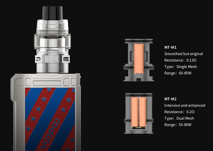 VOOPOO ALPHA Zip Vape Kit Features 4