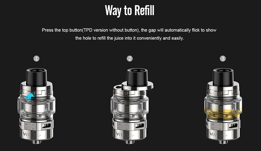 VOOPOO ALPHA Zip Vape Kit Features 6