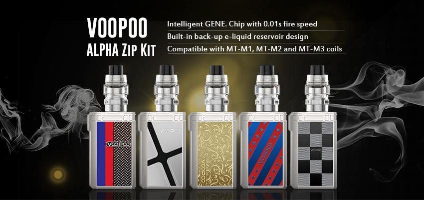 VOOPOO ALPHA Zip Kit Banner