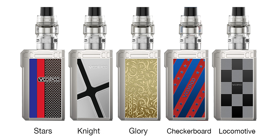 VOOPOO ALPHA Zip Kit Colors