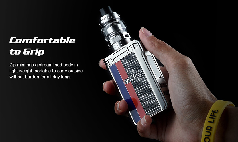VOOPOO ALPHA Zip Mini Features 2