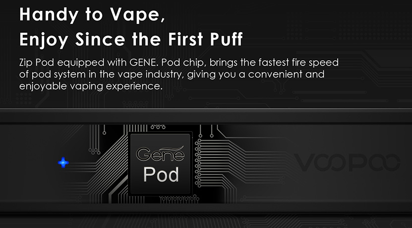 VOOPOO ALPHA Zip Pod Vape Kit Features 2