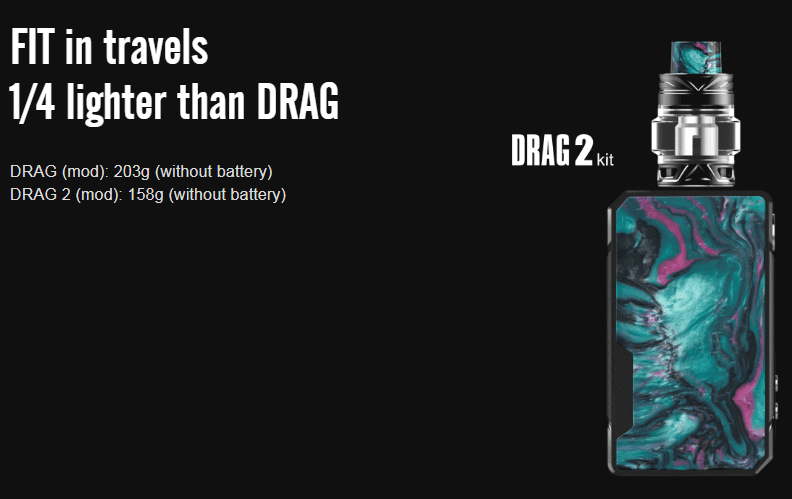 VOOPOO Drag 2 Kit Features 5