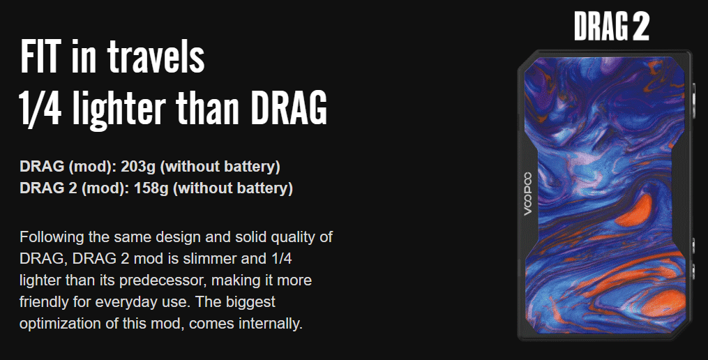 VOOPOO Drag 2 Mod Features 05