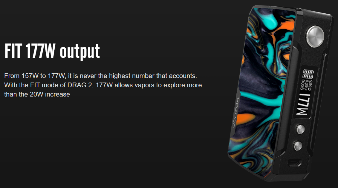 VOOPOO Drag 2 Mod Features 06
