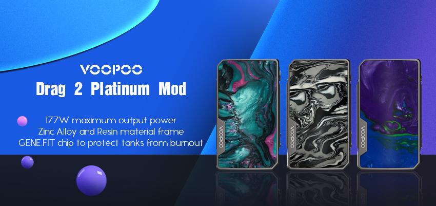 VOOPOO Drag 2 Platinum Mod Banner