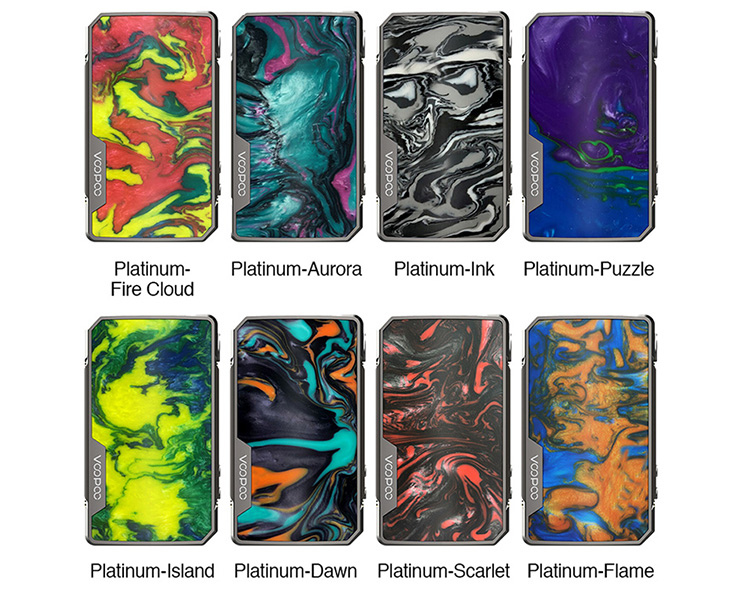 VOOPOO Drag 2 Platinum Mod Colors