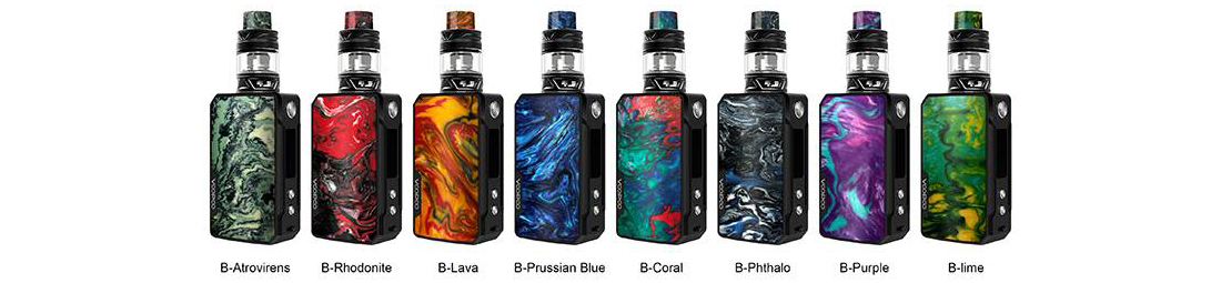VOOPOO Drag Mini Kit TPD Edition Colors