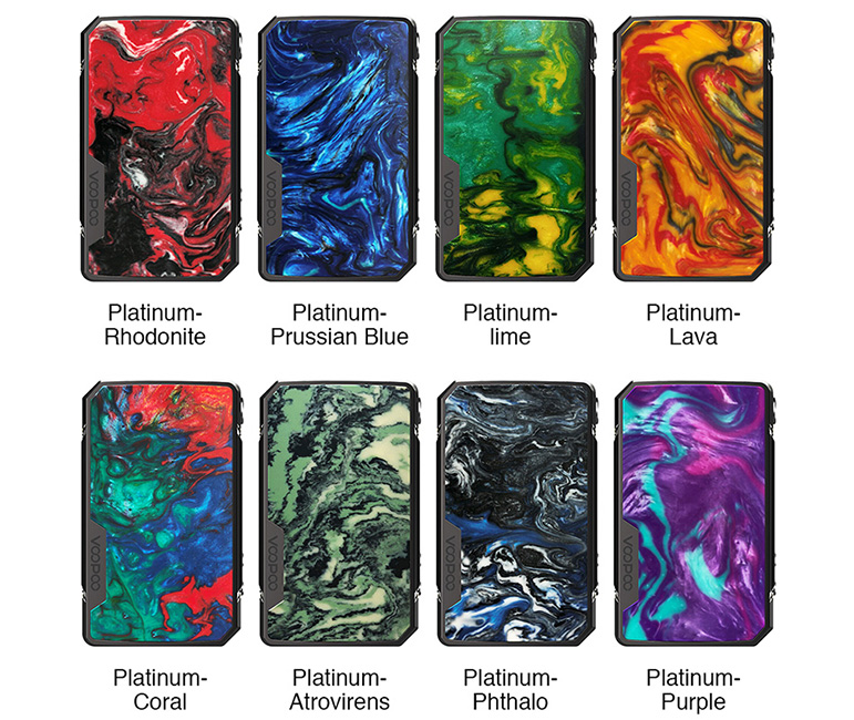 VOOPOO Drag Mini Platinum Mod Colors