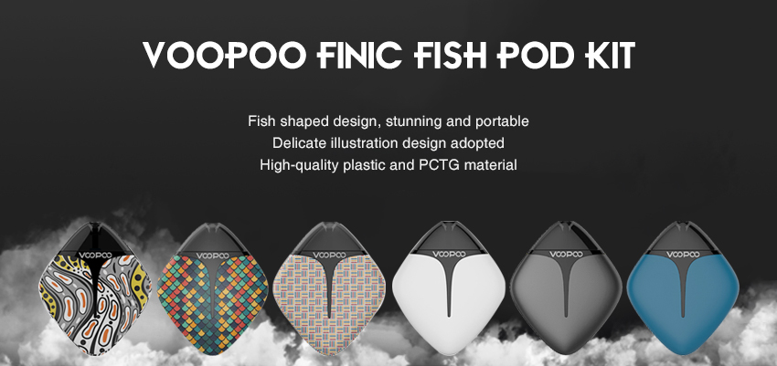 VOOPOO FINIC Fish Pod Kit Banner
