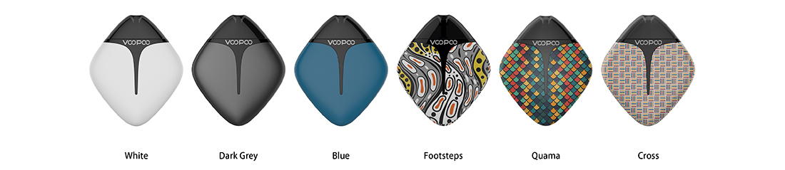 VOOPOO FINIC Fish Pod Kit Colors