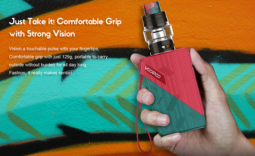 VOOPOO Find 120W TC Kit Features 1