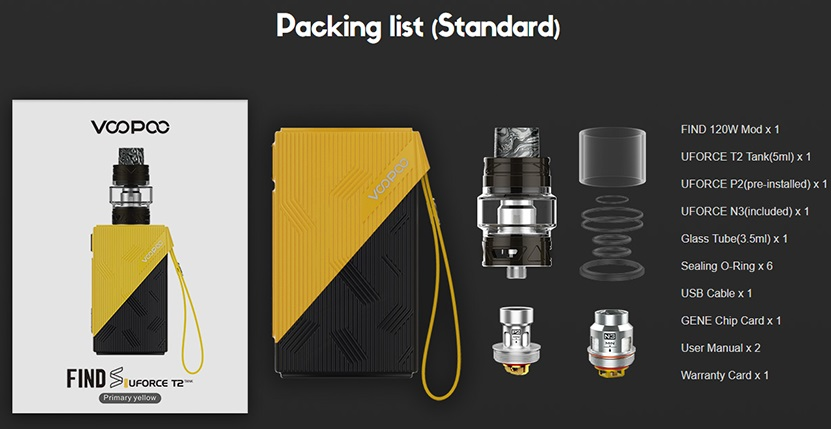 VOOPOO Find Kit Features 12