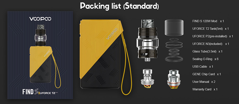 VOOPOOO Find S Vape Kit Features 12