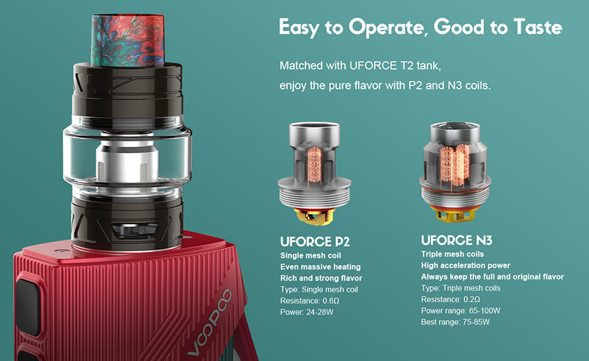 VOOPOO Find S Vape Kit Features 6