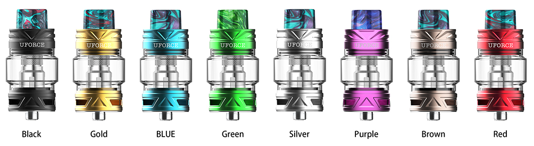 VOOPOO UFORCE T2 Tank Colors