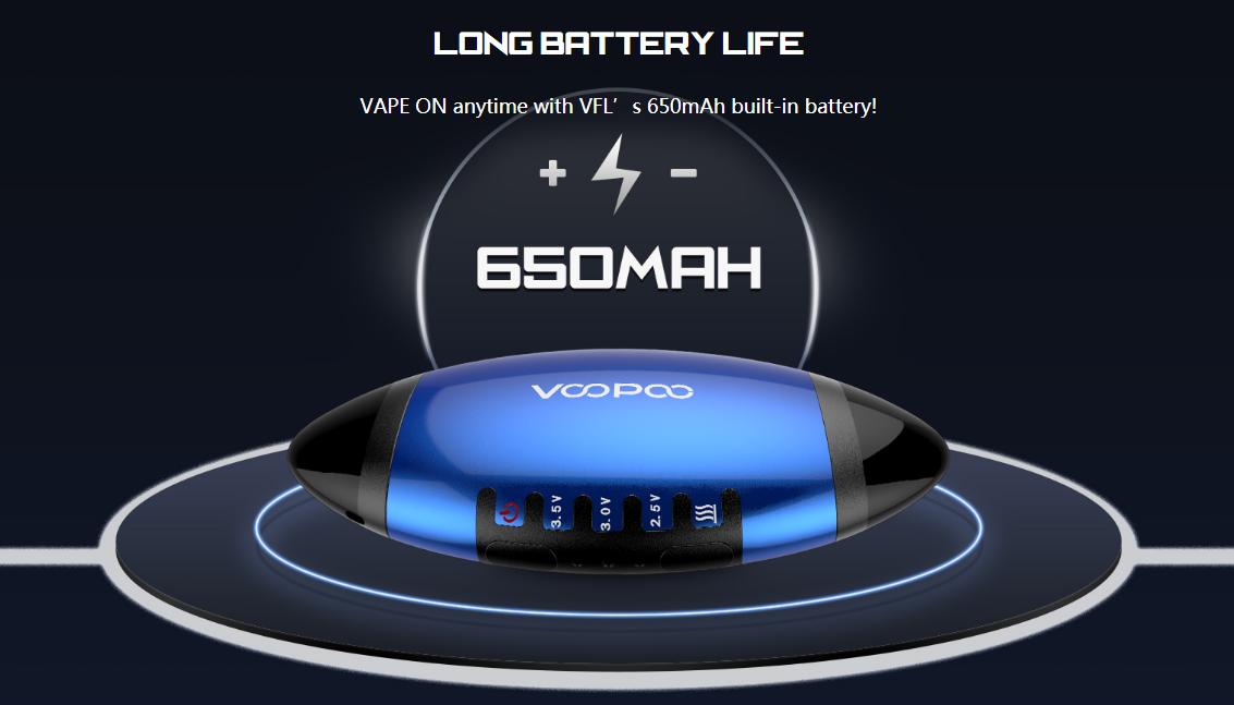Voopoo VFL Refillable Pod System Kit 650mah