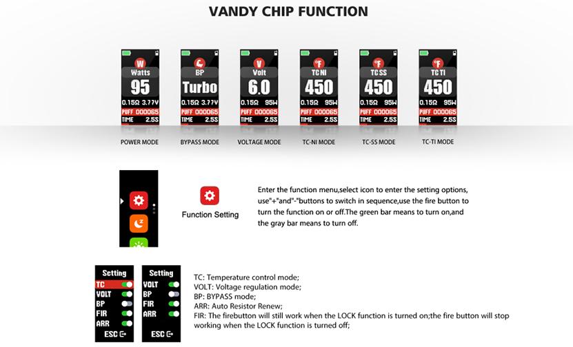 VandyVape PR SE Kit feature4