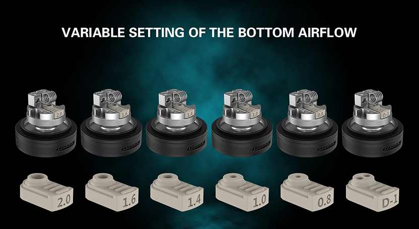 BSKR V2 MTL RTA Variable Setting