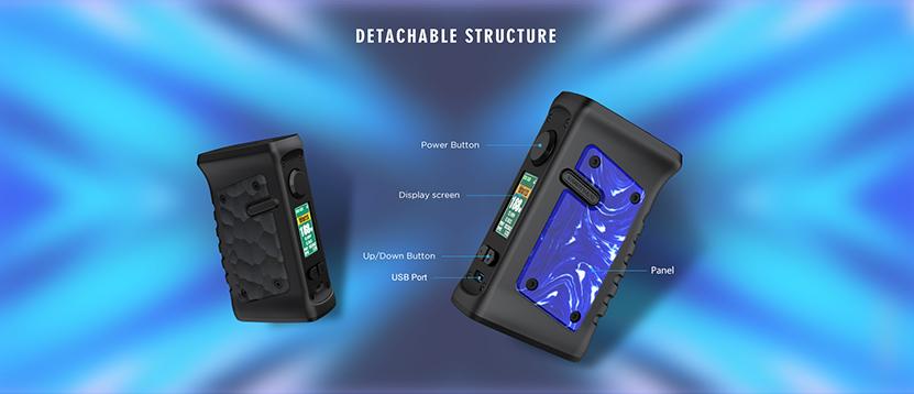 Vandy Vape Jackaroo Dual Mod Structure