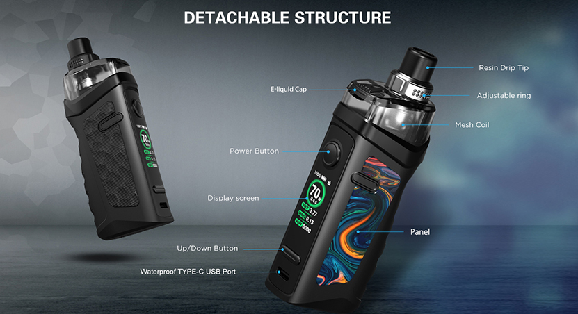 Vandy Vape Jackaroo Pod Kit feature1