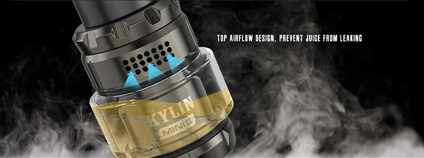 Kylin Mini V2 RTA Atomizer Top Airflow
