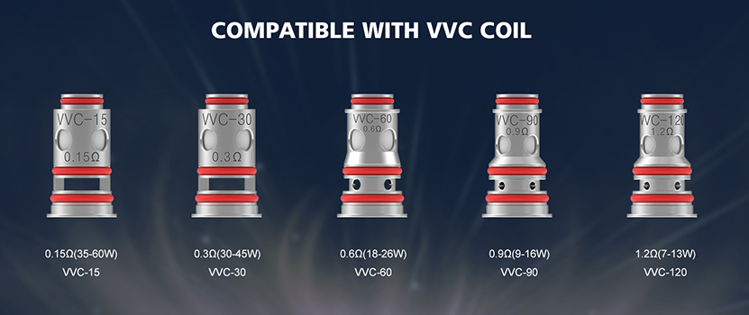 Vandy Vape Nox Kit Compatible with VVC Coil