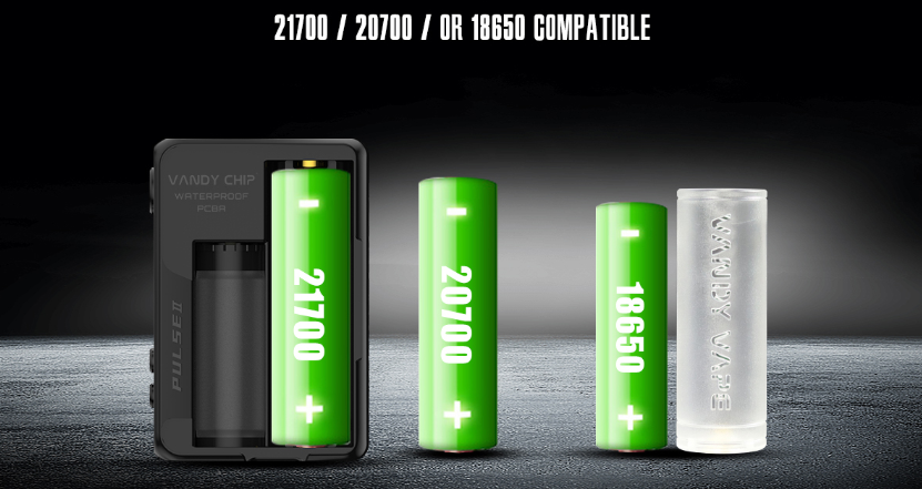 Pulse V2 Box Mod Battery