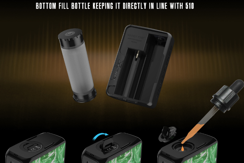 Pulse V2 Box Mod Bottom Filling