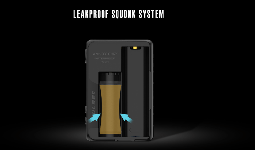 Pulse V2 Squonk Bottle Leakproof Squonk System