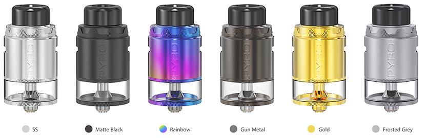 Vandy Vape Pyro V4 RDTA Colors