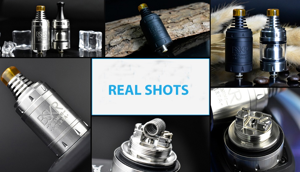 Vandy Vape Berserker V1.5 Mini MTL RTA Real Shot