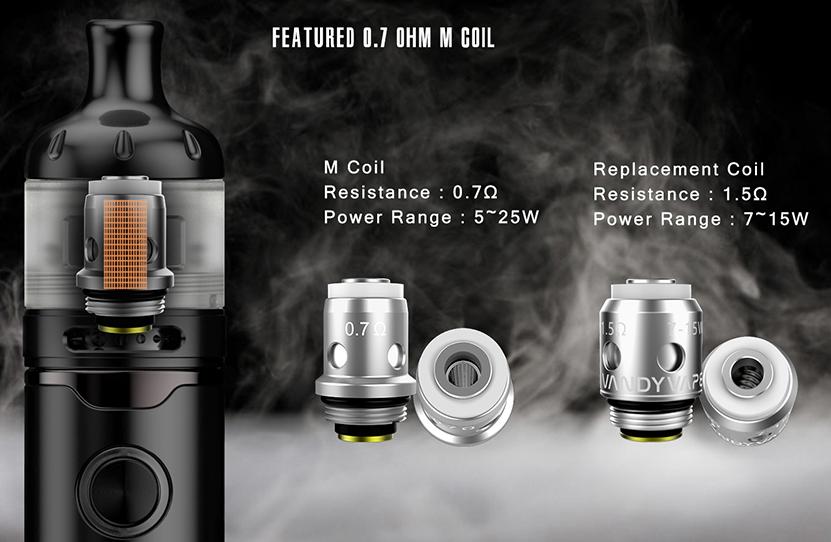 Vandy Vape Berserker S Kit Featured 0.7ohm M Coil