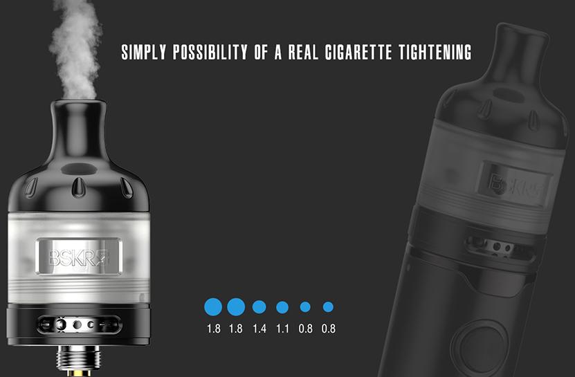 BSKRS MTL Kit Real Cigarette Tightening