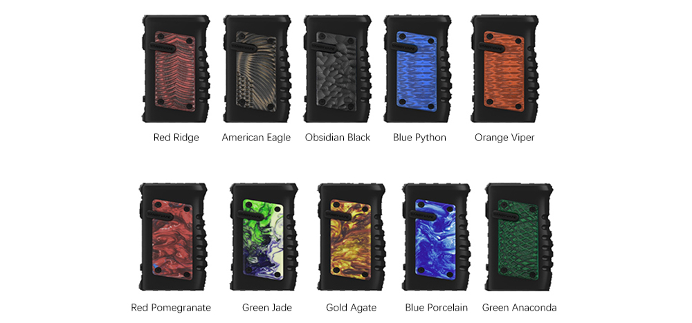 Vandy Vape Jackaroo Mod Colors